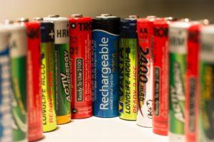 Representación de baterías para ahorro de energía