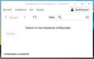 Configuración de Impresión en Deepin