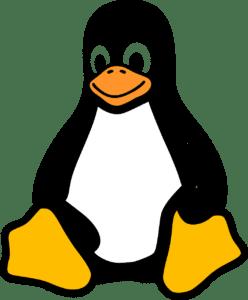 la mascota Linux