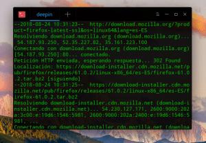 Firefox Latest instalación