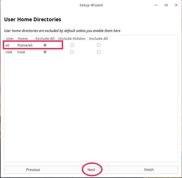 Excluye tu directorio /home