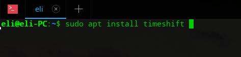Instala TimeShift en Deepin OS