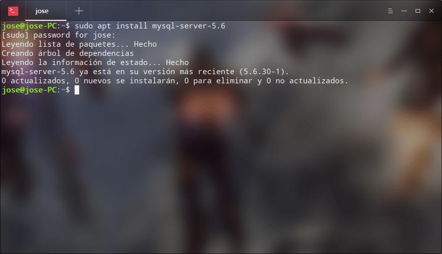 MySql server 5.6