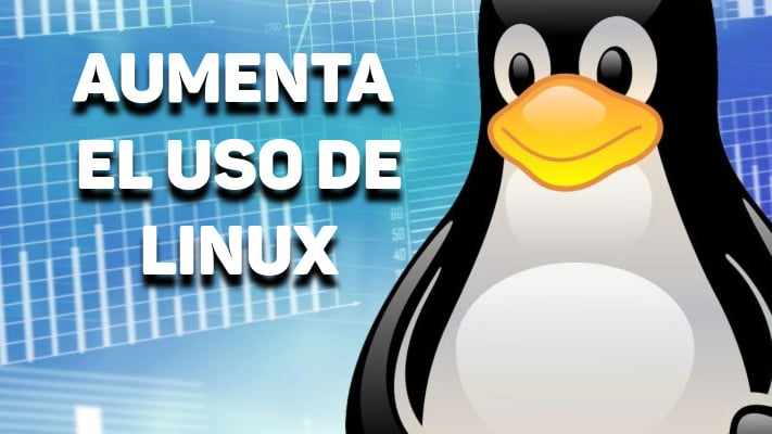 EL USO GLOBAL DE LINUX SE DUPLICÓ EN ABRIL